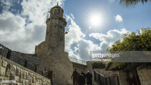 A view of Abbey of the Dormition in Jerusalem on November 13 2017 Jerusalem has for decades been a flashpoint for global tensions as the nexus of...