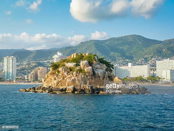 View of Acapulco bay, Mexico
