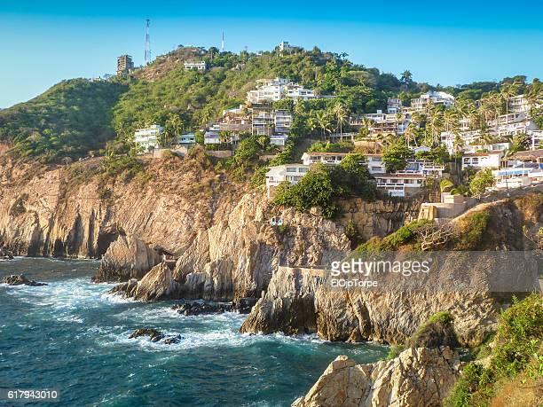 View of Acapulco coastline, Mexico