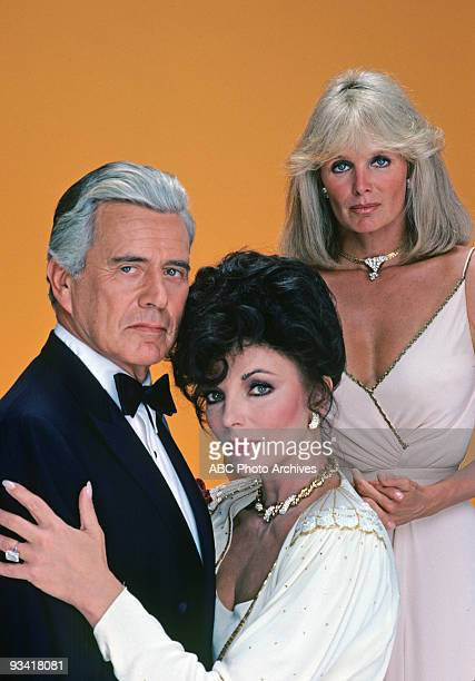 DYNASTY gallery Season One 10/15/81 John Forsythe Joan Collins Linda Evans