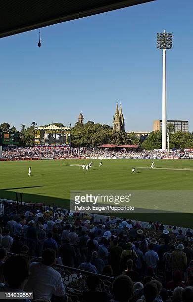 View of Adelaide Oval Australia v England 2nd Test Adelaide Nov 02