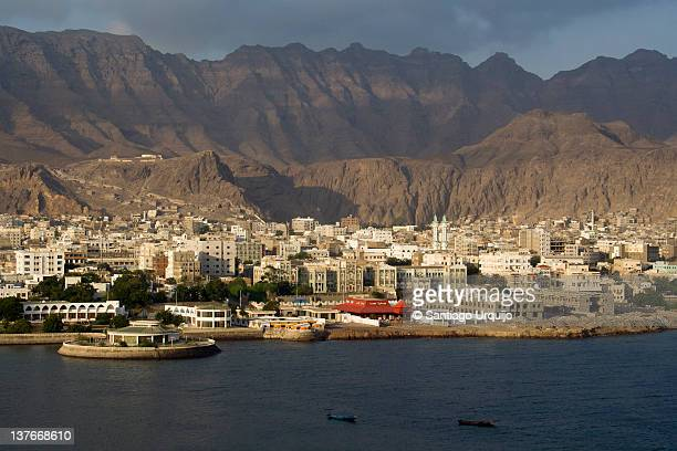 view of aden - yemen stock pictures, royalty-free photos & images