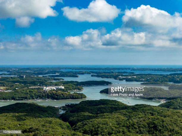 view of ago bay - mie prefecture stock pictures, royalty-free photos & images