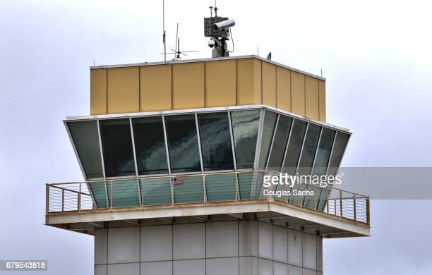 View Of Air Traffic Control Tower Against Sky