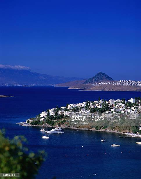 View of Aktur the modern holiday village near Bodrum.