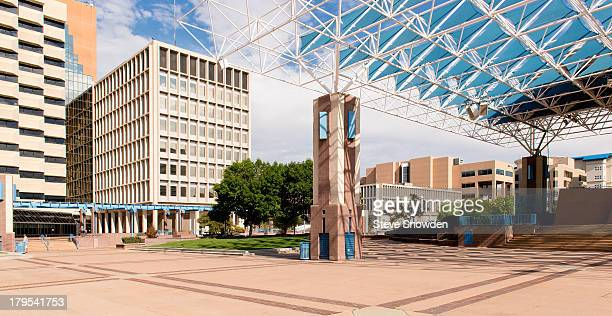 A view of Albuquerque New Mexicos downtown Civic Plaza on September 02 2013 This was the location for a scene between Jesse Pinkman and Walter White...