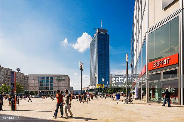 View of Alexanderplatz square