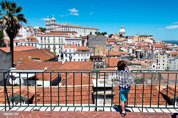 View of Alfama, the oldest district of Lisbon