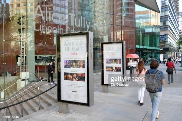 A view of Alice Tully Hall at Lincoln Center Corporate Fund's Stand Up Sing for the Arts at Alice Tully Hall on June 19 2018 in New York City