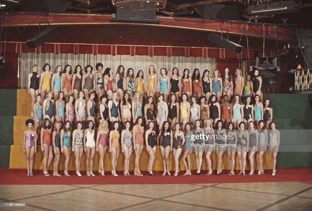 Miss World 1976 : News Photo