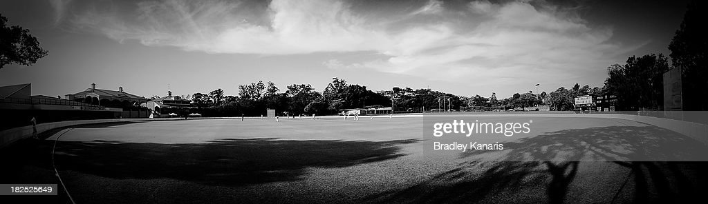 A view of Allan Border Field is seen during day one of the Futures League match between Queensland and Victoria at Allan Border Field on September 30, 2013 in Brisbane, Australia.