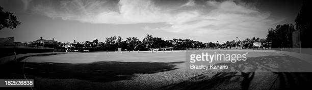 A view of Allan Border Field is seen during day one of the Futures League match between Queensland and Victoria at Allan Border Field on September 30...