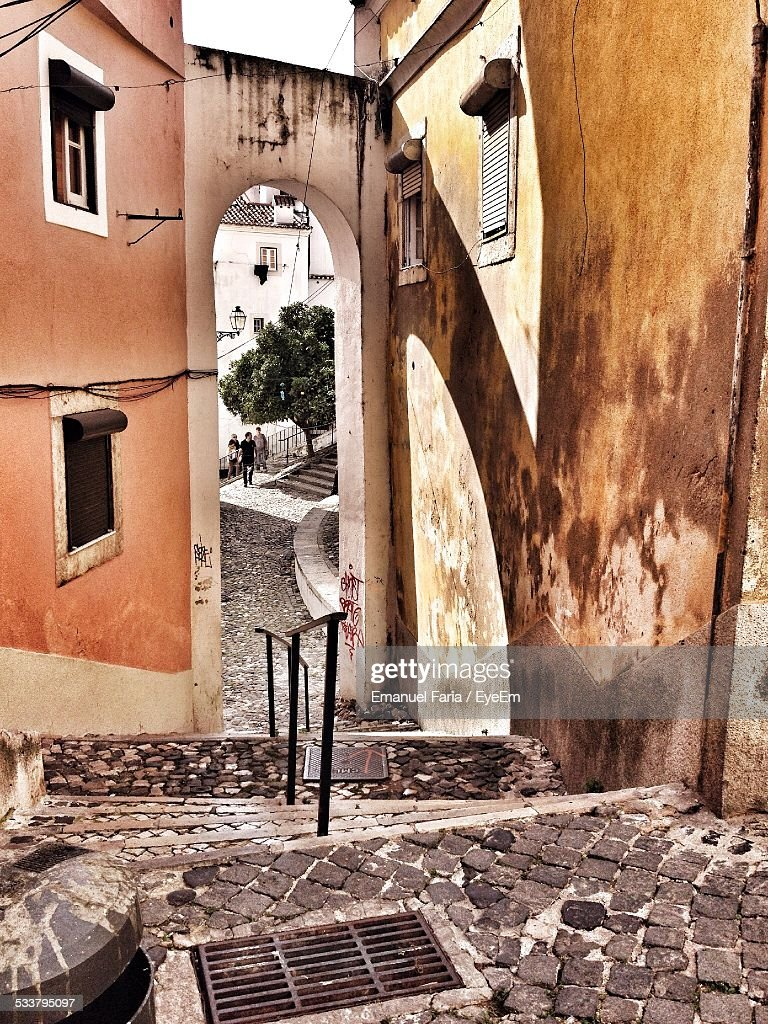View Of Alley : Foto stock