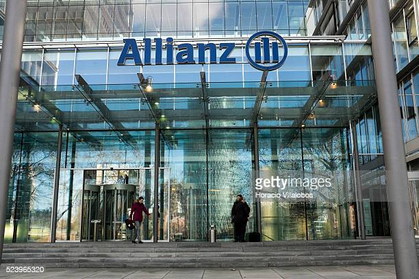 View of Allianz headquarters in Frankfurt Germany 13 November 2013 Germany's Allianz has stated on 10 March 2014 that it is the lead insurer covering...