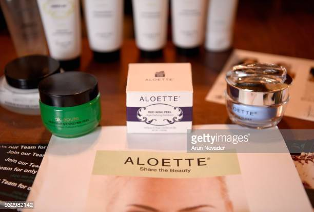 A view of Aloette backstage at Los Angeles Fashion Week Powered by Art Hearts Fashion LAFW FW/18 10th Season Anniversary Backstage and Front Row Day...