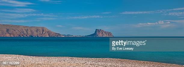 View of Altea from Albir Beach