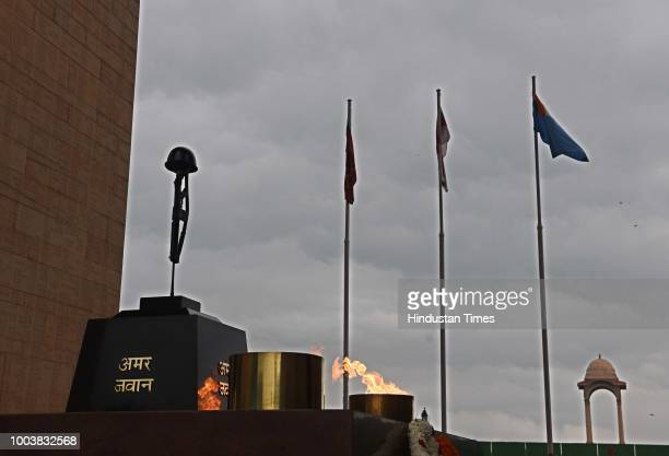 Amar jawan jyoti pictures and photos getty images a view of amar jawan jyoti memorial at india gate on july 22 2018 in new thecheapjerseys Images
