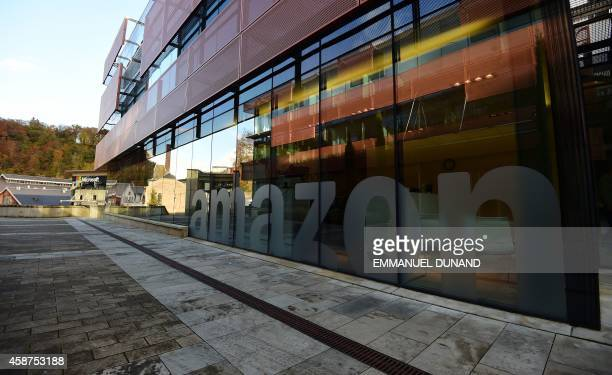 A view of Amazon's headquarters in Luxembourg November 10 2014 Leaked documents describing the Luxembourg tax arrangements of more than 340...