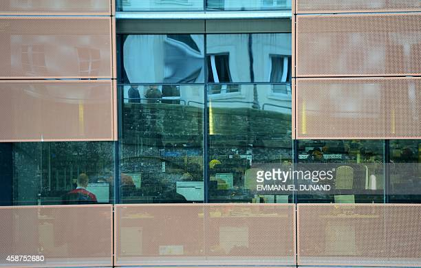 A view of Amazon's headquarters in Luxembourg seen on November 10 2014 Leaked documents describing the Luxembourg tax arrangements of more than 340...