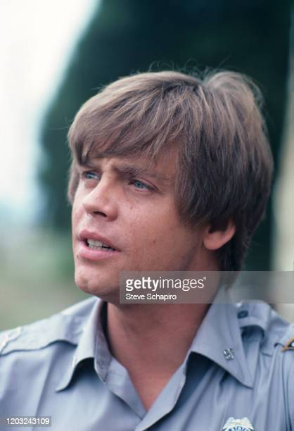 View of American actor Mark Hamill in a scene from the film 'The Night the Lights Went Out in Georgia' , 1980.
