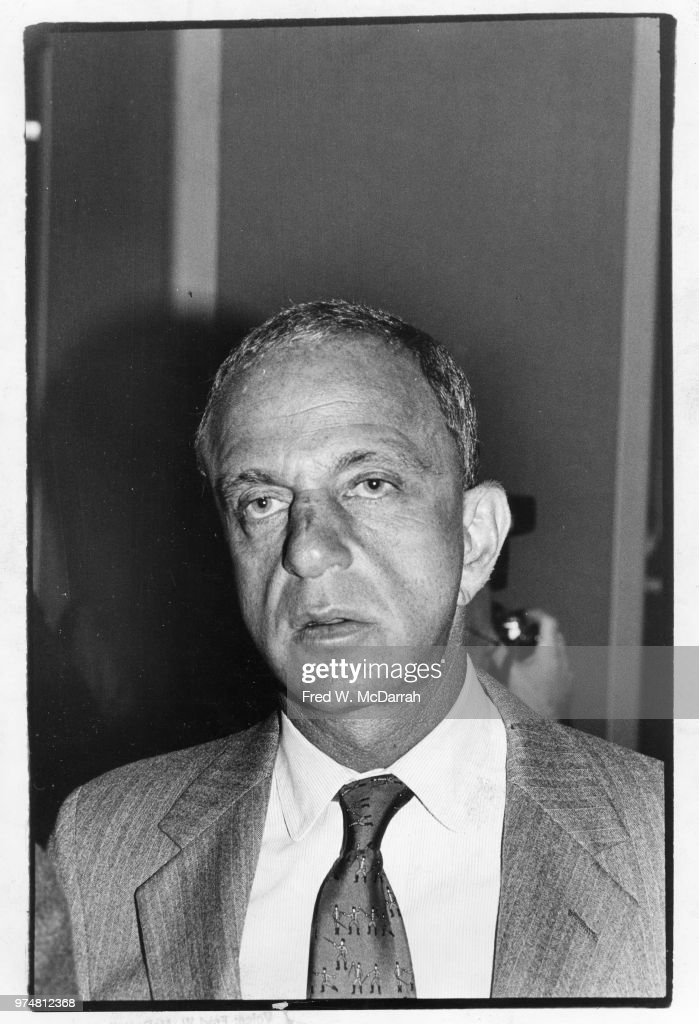 Roy Cohn At The Friar's Club : News Photo