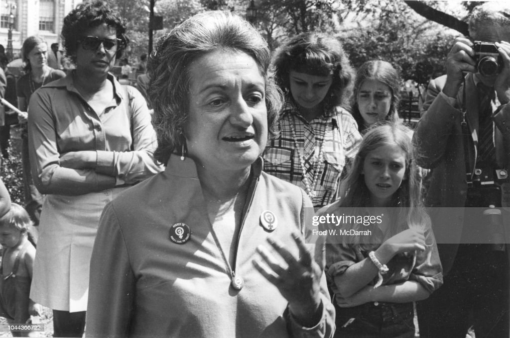 Betty Friedan In March : News Photo