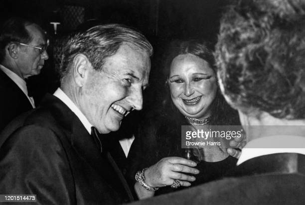 View of American financier and businessman David Rockefeller Sr during an unspecified event New York New York 1977