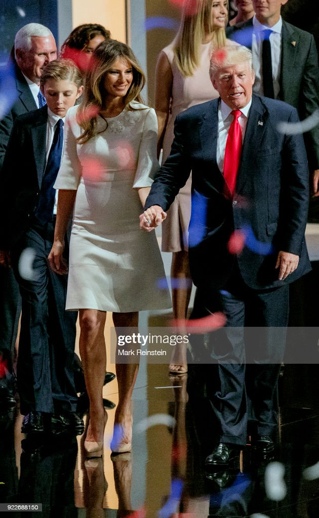 Trump & Family At RNC : ニュース写真