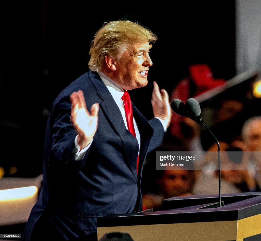 Donald Trump At RNC : Foto di attualità