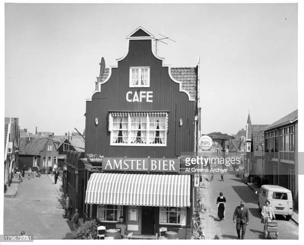A view of Amstel Bier in Volendam Holland