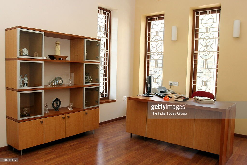 View of an apartment with furniture, colours, pictures and ...