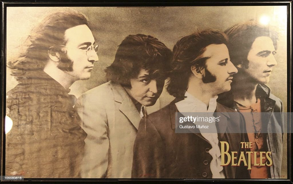 Auction For Beatles Itens In Buenos Aires : News Photo