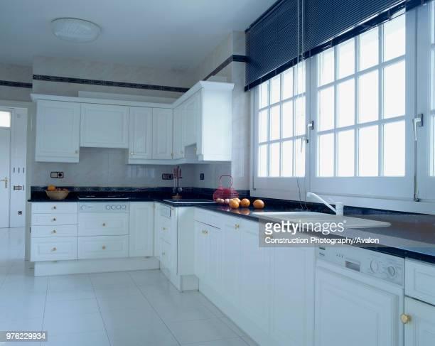 View of an elegant kitchen