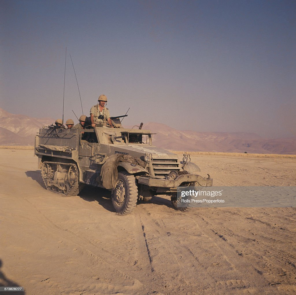 M3 Half-Track In Action : News Photo