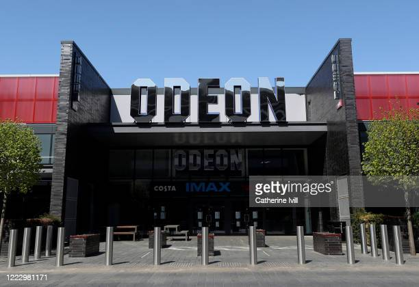 View of an Odeon Cinema on April 24 2020 in Milton Keynes United Kingdom The British government has extended the lockdown restrictions first...