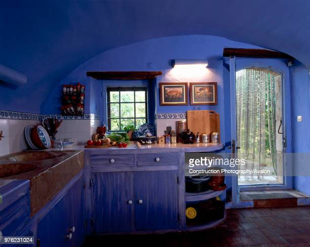 View of an organized kitchen