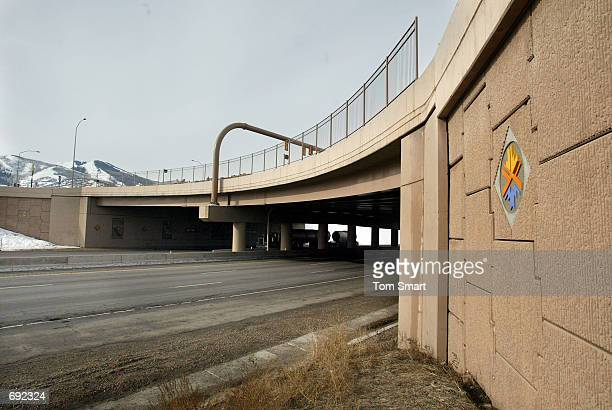 A view of an overpass at Kimball Junction which was constructed for the 2002 Winter Olympics January 9 2002 in Salt Lake City Utah 400 million...