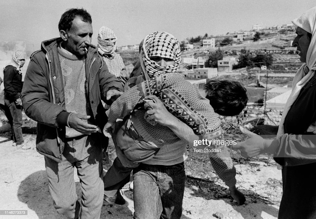 Injured Child In The West Bank : News Photo