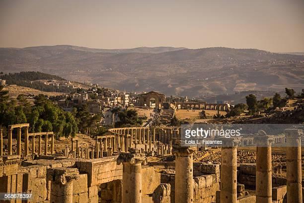 View of ancien Gerasa