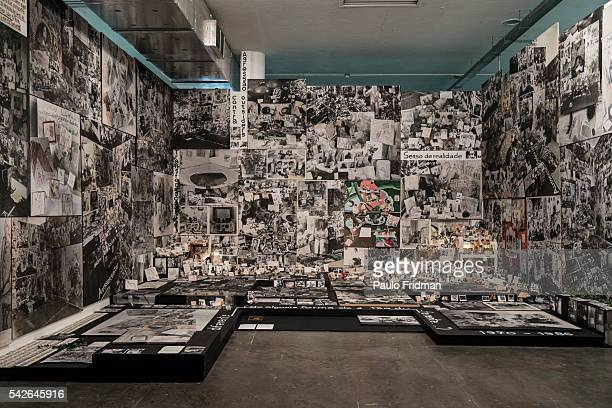 A view of Anna Opperman's 'Behind different Somehow she is so different' at the 30th Sao Paulo's Art Bienal on September 5th in Sao Paulo Brazil