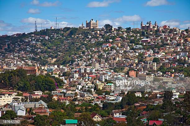 view of antananarivo (tana), madagascar - antananarivo stock photos and pictures