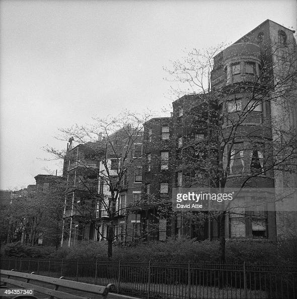 Brooklyn Apartment Building: A View Of Apartment Buildings In Brooklyn Heights In March