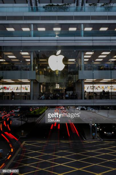 A view of Apple Store at Hong Kong International Finance Center on July 06 2018 in Hong Kong Hong Kong