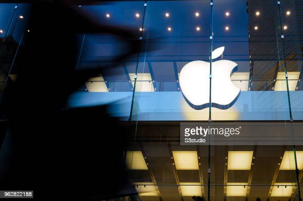 A view of Apple store facade at Hong Kong Times Square on May 24 2018 in Hong Kong Hong Kong