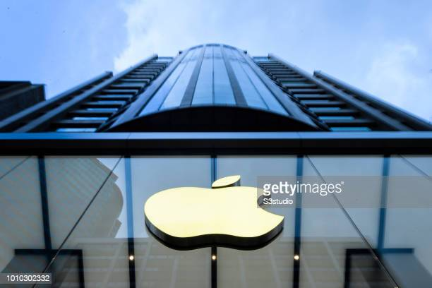A view of Apple Store in Hong Kong Kowloon District on August 03 2018 in Hong Kong Hong Kong