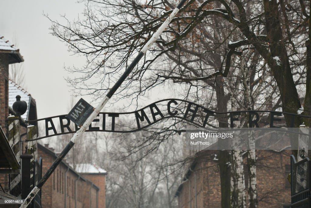 Anniversary of the Liberation of Auschwitz-Birkenau : Fotografía de noticias