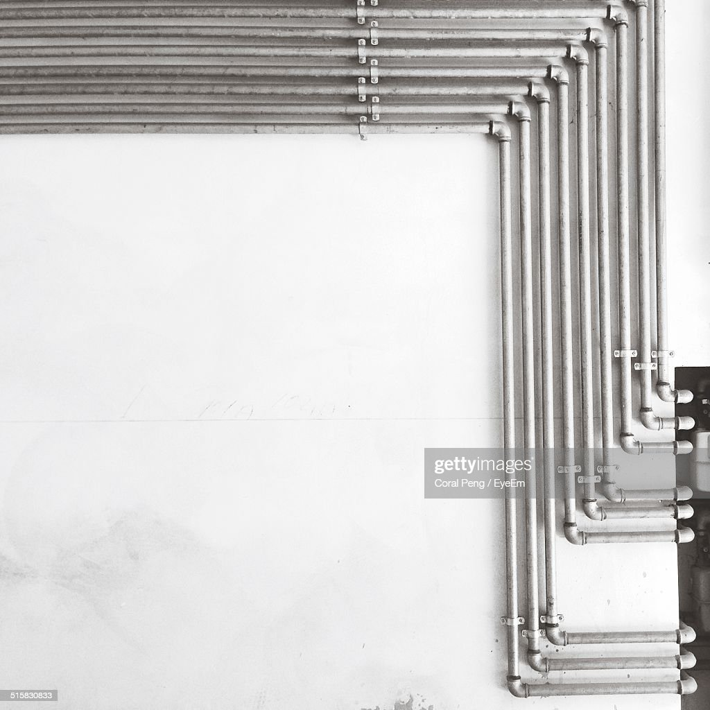 View Of Arrangement Of Pipes : Stock Photo