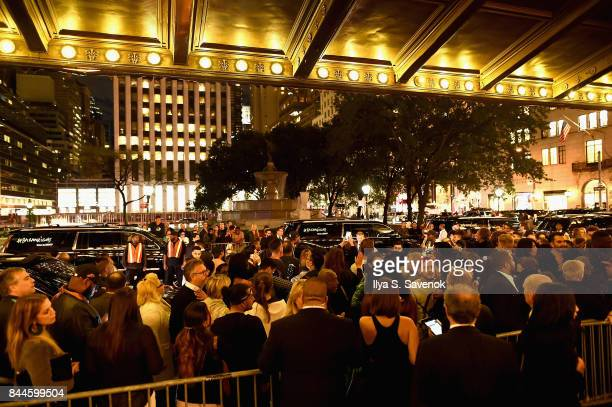 A view of arrivals at Harper's BAZAAR Celebration of 'ICONS By Carine Roitfeld' at The Plaza Hotel presented by Infor Laura Mercier Stella Artois...