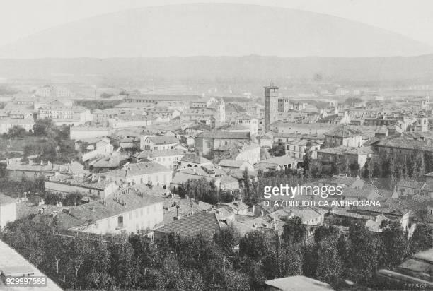 View of Asti Italy photograph by Battagliotti from L'Illustrazione Italiana Year XXX No 41 October 11 1903