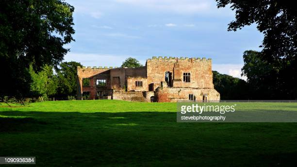 view of astley castle - stevebphotography stock pictures, royalty-free photos & images